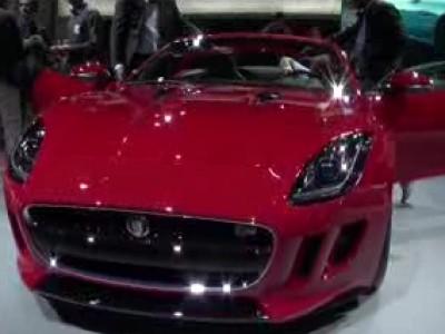 Jaguar F-Type - Mondial 2012