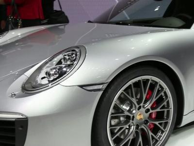 Francfort 2015 : Porsche 911