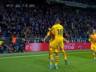 La Liga : Le Barça se fait égaliser à la fin du match dans le derby face à l'Espanyol