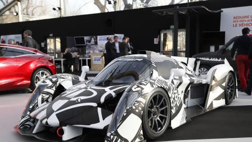 Nairones Defives et Ligier : la Ligier décorée par Nairones Defives en vidéo