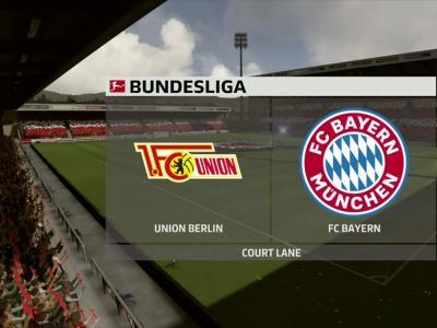 Union Berlin - Bayern Munich sur FIFA 20 : résumé et buts (Bundesliga - 26e journée)