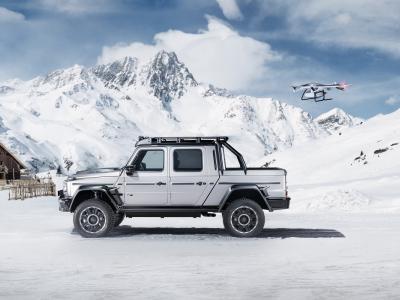 Brabus 800 Adventure XLP : le pick-up préparé par Brabus en vidéo