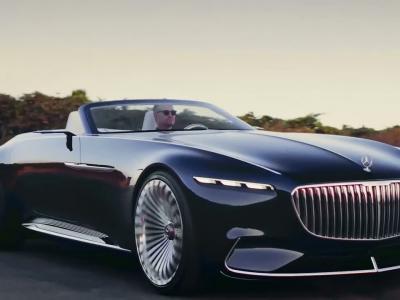 Mercedes-Maybach Vision 6 Cabriolet : hors-bord de route
