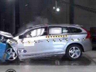 Crash Tests : Volvo V60
