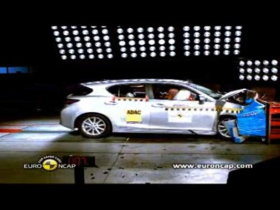 Crash Tests : Lexus CT200h
