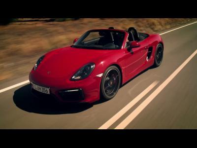 Les Porsche Boxster GTS et Cayman GTS en vidéo