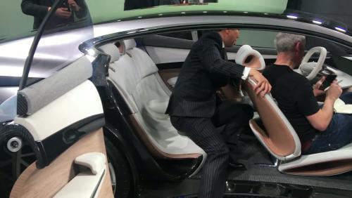 Le concept Hyundai Le Fil Rouge en vidéo depuis le salon de Genève