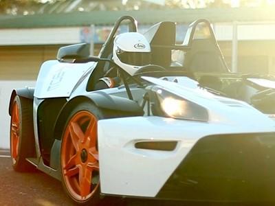 De belles images du KTM X-Bow sur circuit