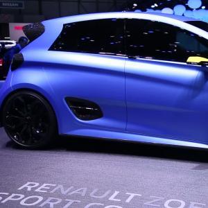 Genève 2017 : Renault Zoe e-Sport Concept