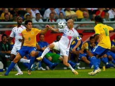 La démonstration de Zidane face au Brésil