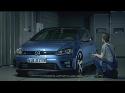 La Volkswagen Golf 7 R domptée par Sébastien Ogier