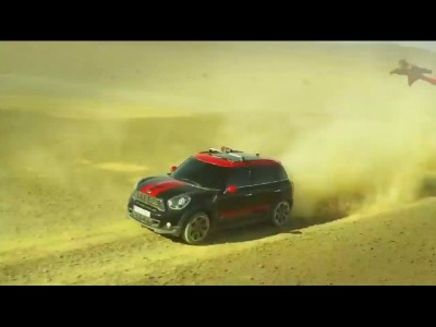 Mini Country Man JCW x Wingsuit = OMG !