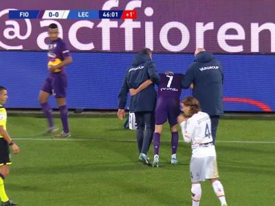 Serie A - Fiorentina : Ribéry se fait découper et doit sortir !