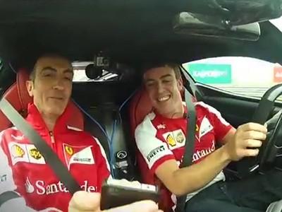 Fernando Alonso & LaFerrari