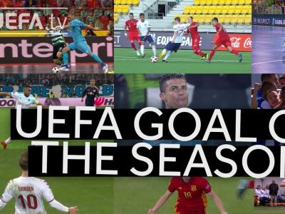 SHORTLIST: UEFA GOAL OF THE SEASON 2017/18