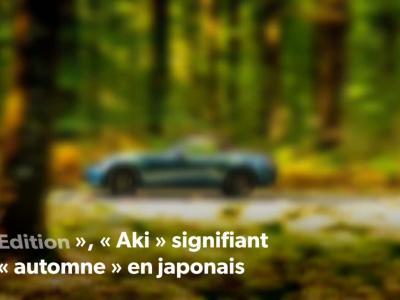 Mazda MX-5 : présentation de l'édition limitée Aki Edition