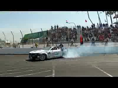 Drift dans les rues de Long Beach