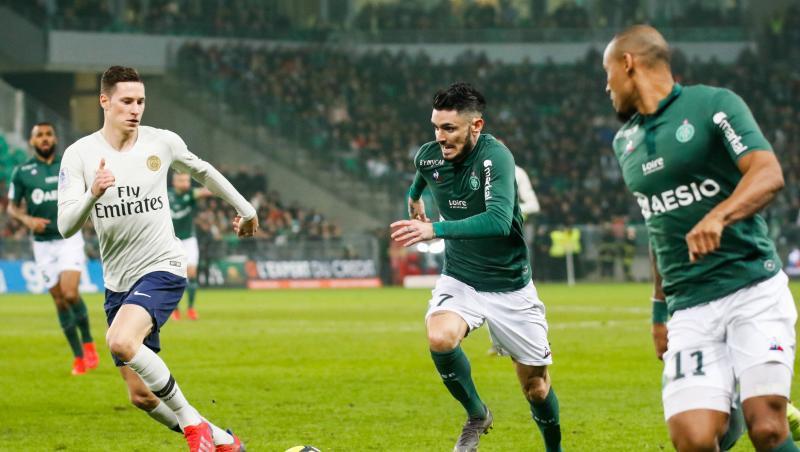 Saint-Etienne - PSG : le bilan des Verts dans le Chaudron