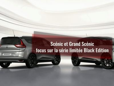 Renault Scénic et Grand Scénic : focus sur la série limitée Black Edition