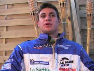 Interview Guillaume Moreau 24h du Mans 2007
