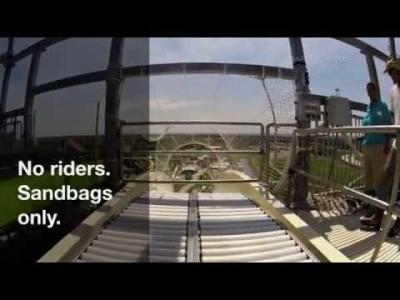 Le plus grand toboggan du monde à Kansas City