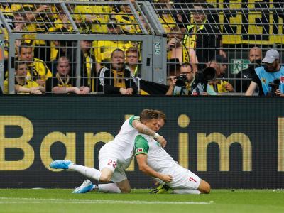 Augsbourg marque en 29 secondes contre Dortmund !
