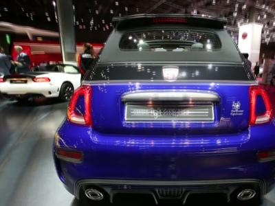 Mondial 2016 : Abarth 595 restylée