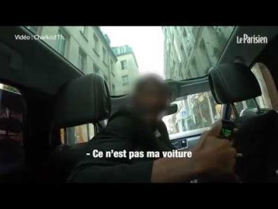 250 euros pour un Roissy-Paris : un taxi clandestin filmé en pleine escroquerie