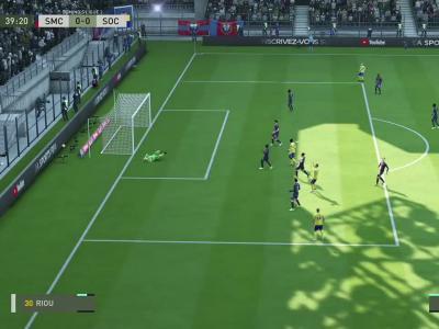 Stade Malherbe de Caen - FC Sochaux sur FIFA 20 : résumé et buts (L2 - 38e journée)