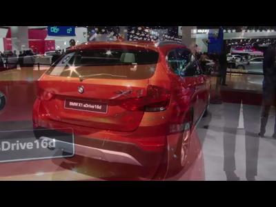 BMW X1 restylé - Mondial 2012