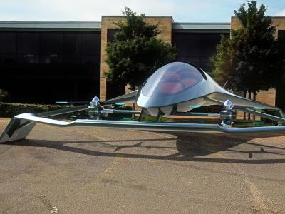 Aston Martin Volante Vision : le taxi volant autonome en vidéo