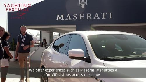 #6 Vivez l'expérience Maserati au Cannes Yachting Festival