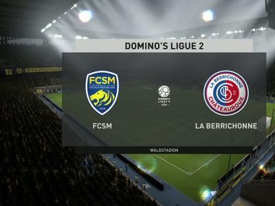 FC Sochaux - La Berrichonne de Châteauroux sur FIFA 20 : résumé et buts (L2 - 35e journée)