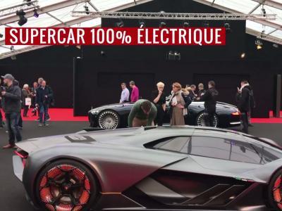 Festival Automobile International 2018 : Lamborghini Terzo Millennio Concept