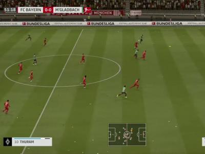 Bayern Munich - Borussia M'Gladbach sur FIFA 20 : résumé et buts (Bundesliga - 31e journée)
