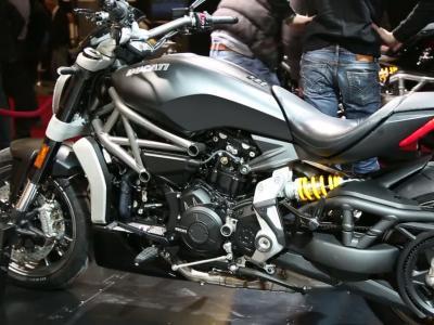 Ducati XDiavel | Salon de la Moto 2015