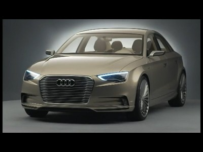 Shanghai 2011 : Audi A3 E-tron Concept