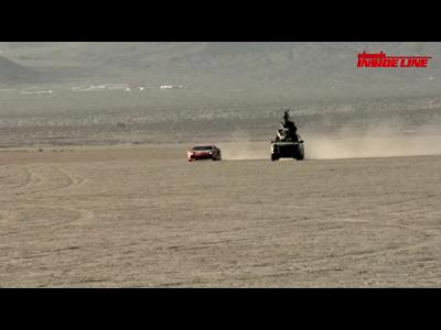 La Lamborghini Aventador mord la poussière !
