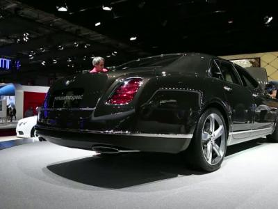 Mondial Auto 2014 : Bentley Mulsanne Speed