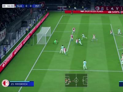 Slavia Prague - Inter Milan : notre simulation sur FIFA 20