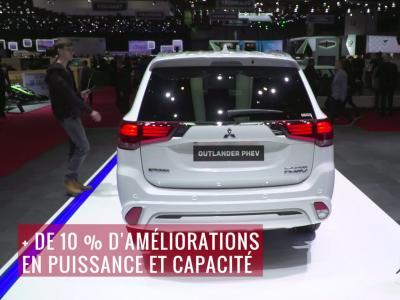 La Mitsubishi Outlander PHEV MY19 en vidéo depuis le salon de Genève 2018