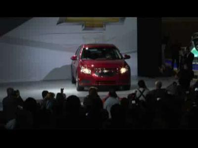 Los Angeles 2009 : Chevrolet Cruze