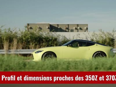 Nissan Z Proto : le prototype de la future sportive Nissan en vidéo