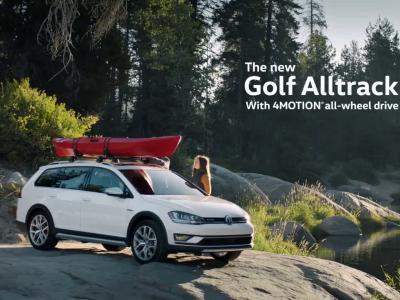 La Volkswagen Golf Alltrack : agile comme un saumon !