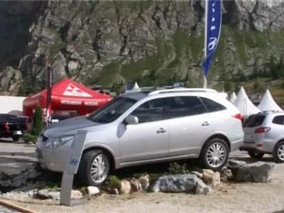 Val D'Isère 2008 : Hyundai Veracruz en avant-première