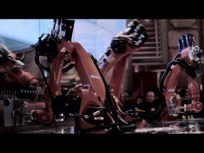Les robots Barman