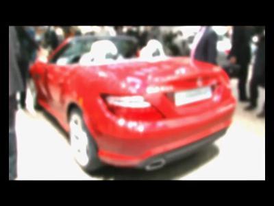 Genève 2011 : Mercedes SLK