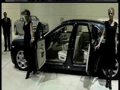 Rolls Royce 200 EX - Lancement Salon de Genève 2009