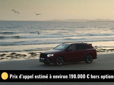 Bentley Bentayga S (2021) : le SUV de luxe en vidéo