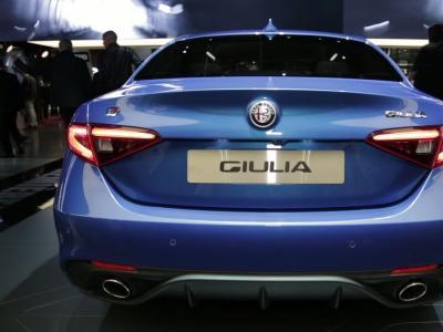 Mondial 2016 : Alfa Romeo Giulia Veloce